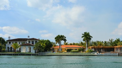 Luxury waterfront homes in Miami Beach