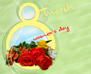 Card for Women's Day