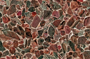 Pebble beach texture