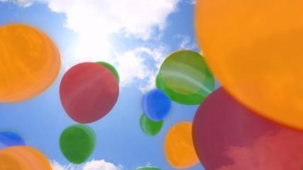 Luftballtons Ballons Geburtstag Jubiläum Party