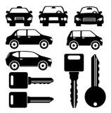 Fototapety Rent a car design, vector illustration.
