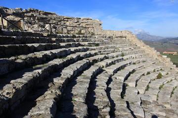 segesta anfiteatro sicilia