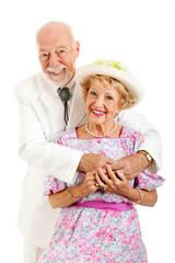 Romantic Southern Senior Couple