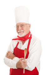 Serious Senior Chef