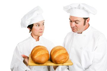 Chefs with Italian Bread