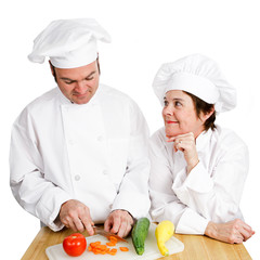 Chefs - Observing Preperation