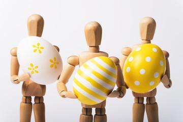 Ostern, Eiermänner