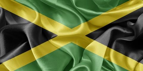 Jamaica satin flag