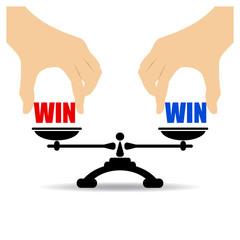 Win win icon