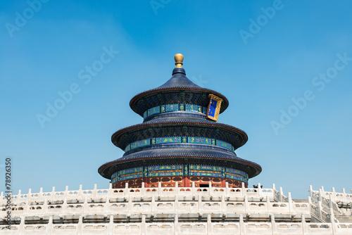 Foto op Canvas Beijing Temple of Heaven, Beijing