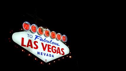 Las Vegas Sign outside Las Vegas