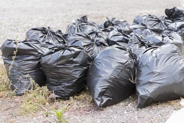 Bolsas de basura.