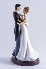 Muñecos de boda.