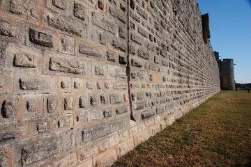 aigus mortes camargue francia mura fortificazione