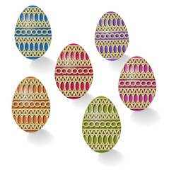 Group Easter eggs
