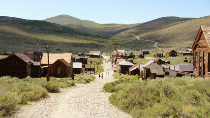 Bodie California - Abandon Mining Ghost Town - Daytime