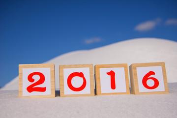 2016年新年のイメージ