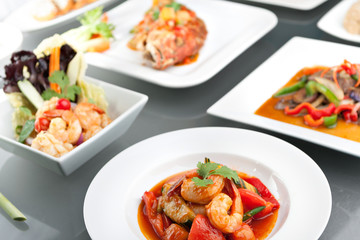 Variety of Thai Meals