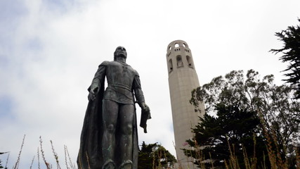 Time Lapse of Coit Tower San Francisco