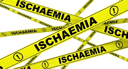 Ишемия (ischaemia). Желтая оградительная лента