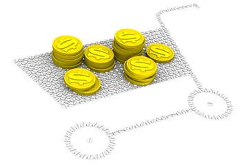 Деньги на покупку лекарств. Концепция