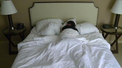 Restless Night Sleep - Time Lapse