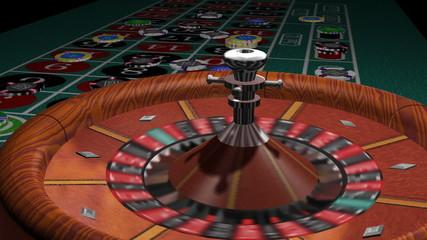 Roulette Wheel Spin 3D