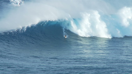 Big Wave Surfers at Jaws, Maui Hawaii