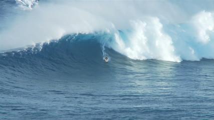 Big Wave Surfers at Jaws, Maui Hawaii