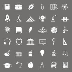 36 Iconos sobre educación FO