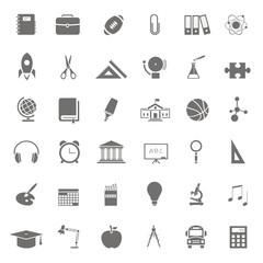 36 Iconos sobre educación FB