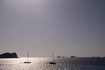Sailboats Ibiza