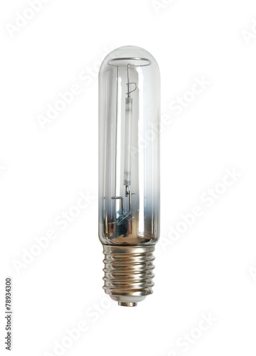 Leinwandbild Motiv sodium street lamp