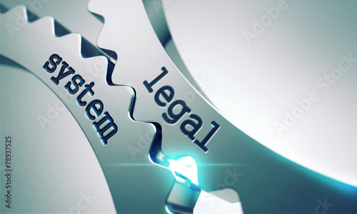Legal System on the Cogwheels. - 78937525