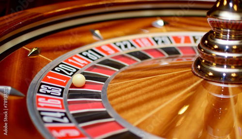 number one at roulette wheel - 78938311