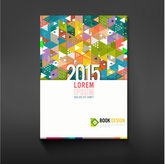 Cover triangle geometry for corporate business design