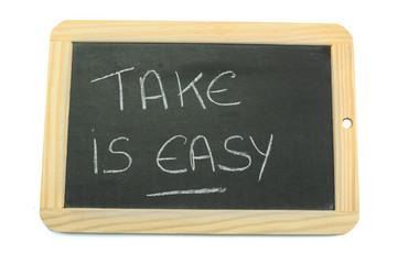 slate take is easy