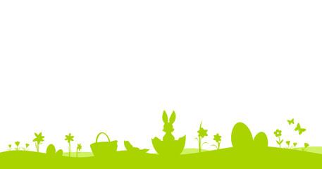 Grüne Osterwiese
