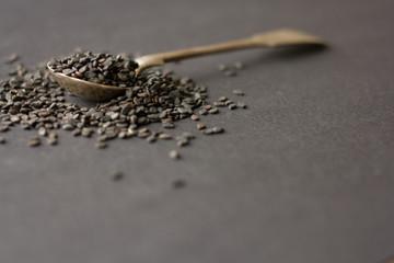 black sesame spices
