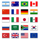 G-20 Group Flag Collection-Complete - 78947532