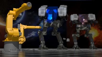 Space robots