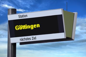 Anzeigetafel 6 - Göttingen