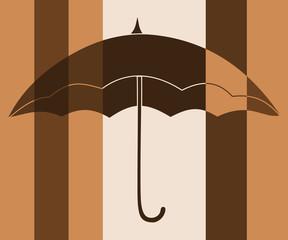 Parapluie multicolore,pop art