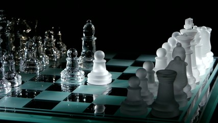 4K. Moving pieces on the chessboard