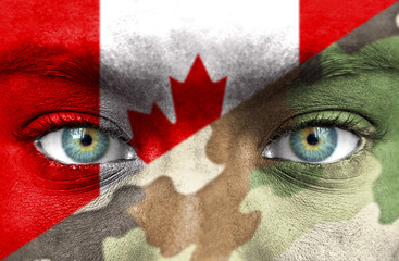 Soldier from Canada