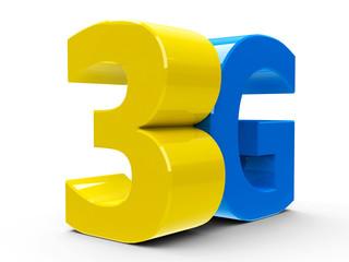 3G icon isometry