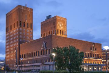 Ayuntamiento de Oslo - Noruega