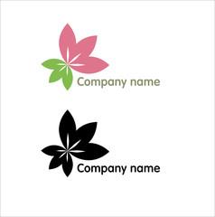 Logo lily flower