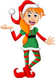 Cute Christmas elf - 78953940