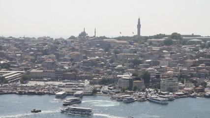 Gulf Gold Horn, Istanbul, Turkey